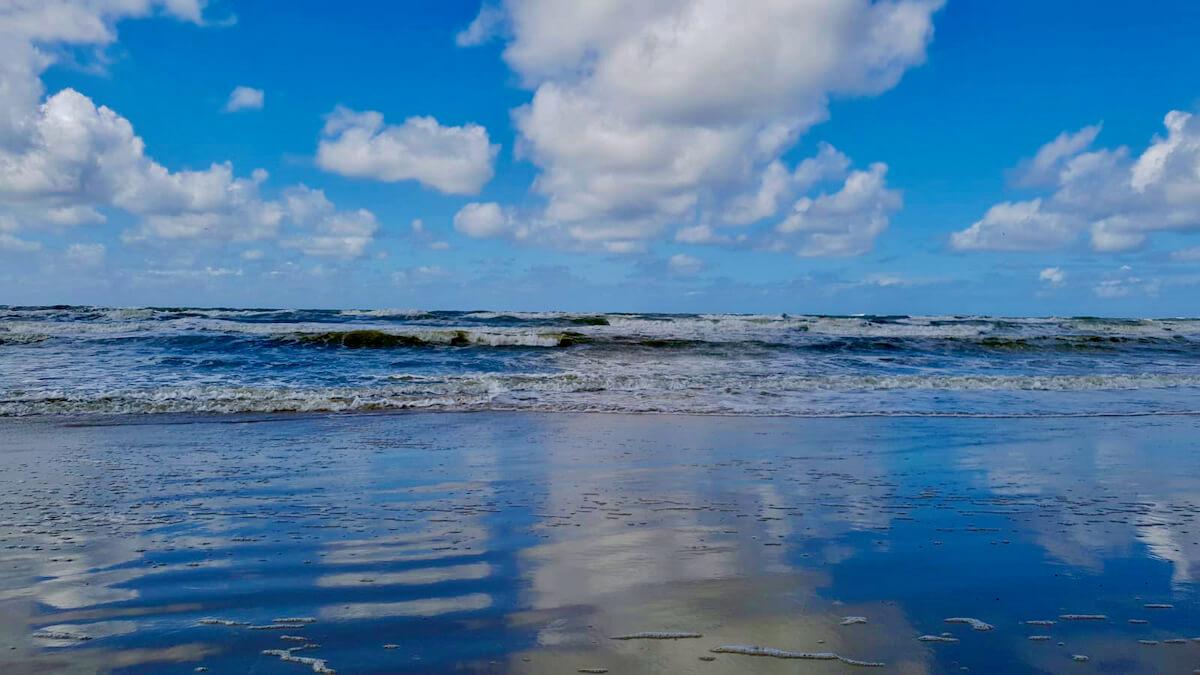 am Strand in Dänemark