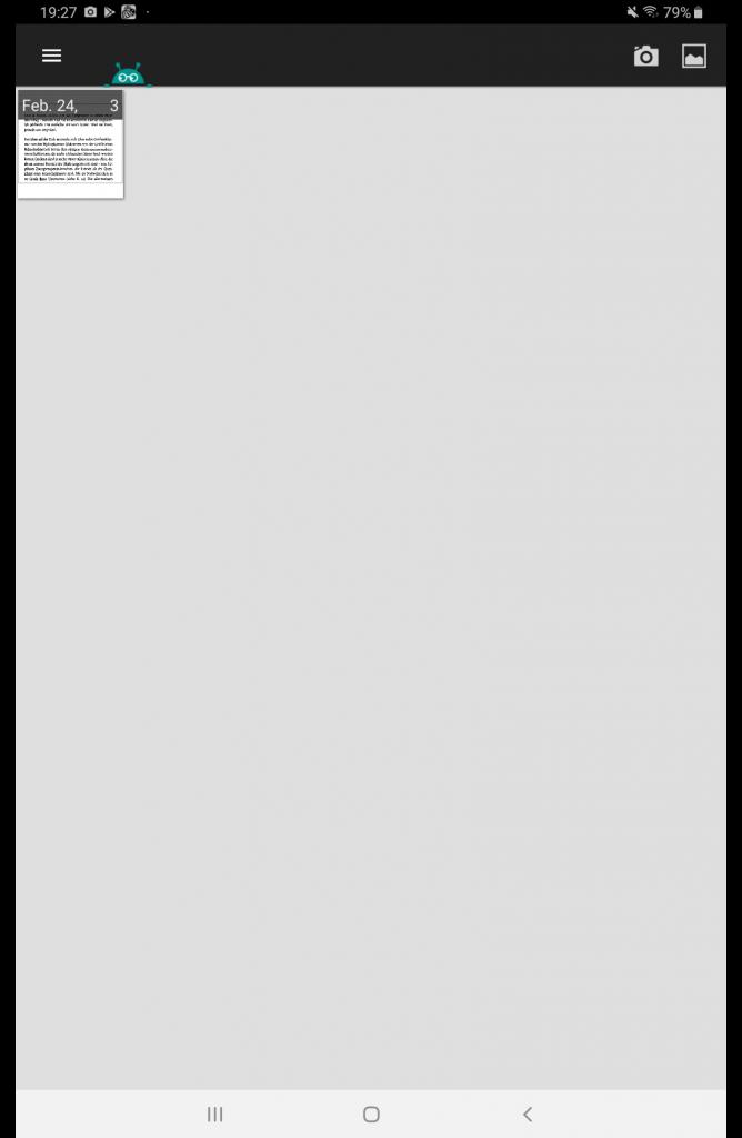 Textfee Gesamtansicht